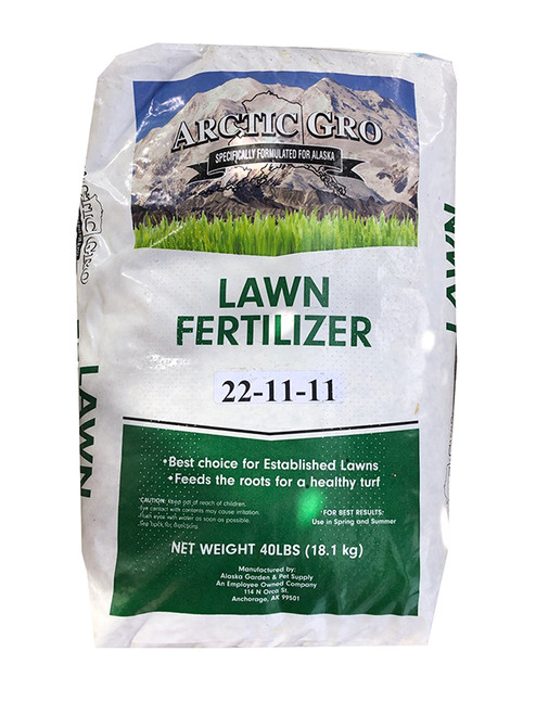 Arctic Gro Lawn Fertilizer 22-11-11