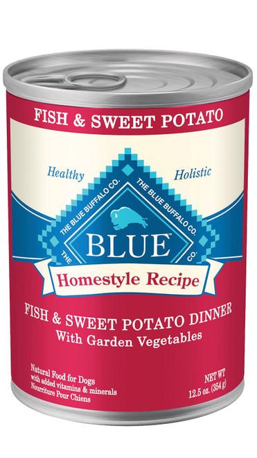 Blue Homestyle Fish & Sweet Potato, 12.5z