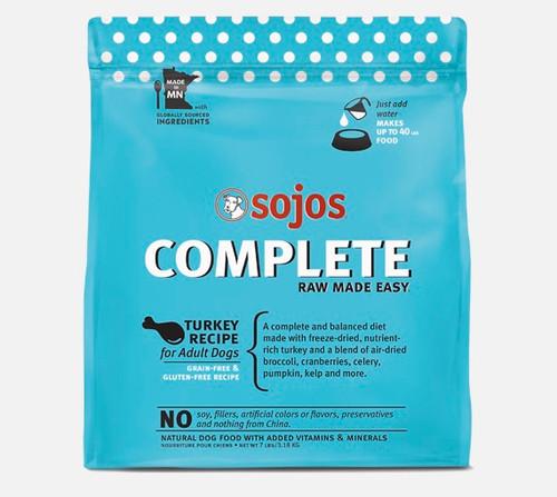 Sojo Complete Dog Food Turkey, 7lb