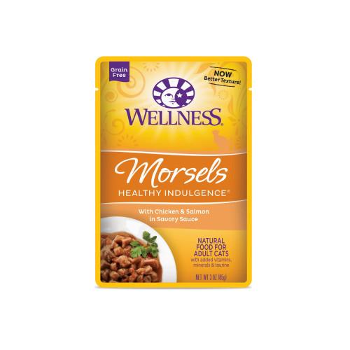 Wellness Healthy Indulgence Morsels Chicken & Salmon, 3oz