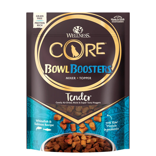Wellness Core Bowl Boosters Tender Whitefish & Salmon, 8oz