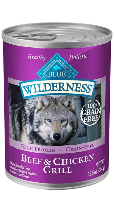 Blue Wilderness Beef & Chicken, 12.5oz