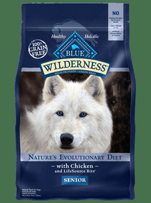 Blue Wilderness Chicken Senior, 24lb