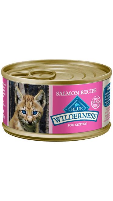 Blue Buffalo Wilderness Kitten Salmon Recipe, 3oz