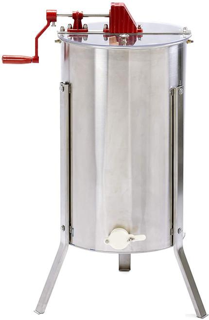 Little Giant Stainless Steel 2-Frame Extractor Hand-Crank Honey Extractor