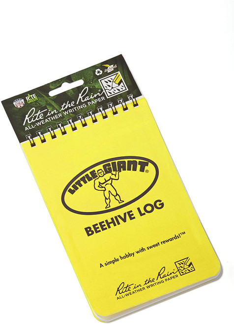 Little Giant Beehive Log Beekeepers Tracking Journal