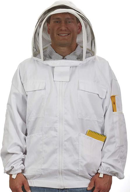 Little Giant Deluxe Beekeeping Jacket Protective Jacket with Hood