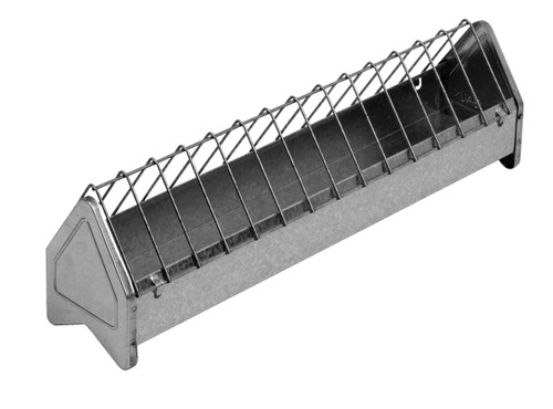 Little Giant Galvanized Feed Trough, 20 inch