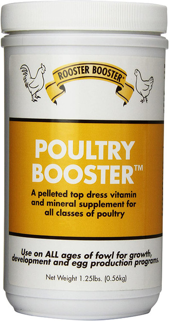 Rooster Booster Poultry Booster, 1.25lb