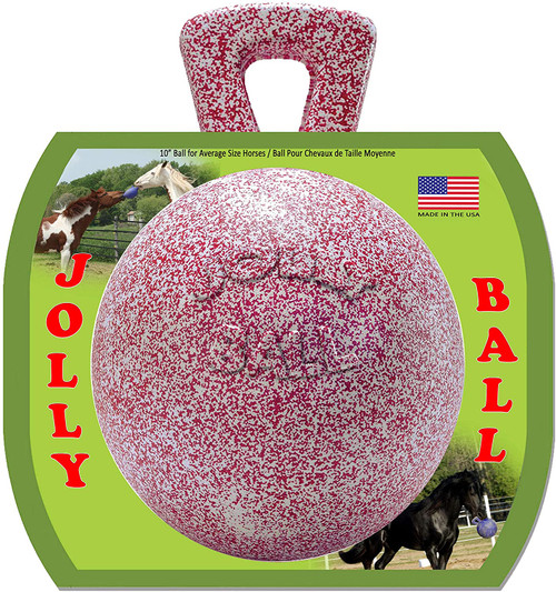 Jolly Ball Horse Toy, Peppermint, 10 inch