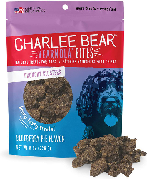 Charlee Bear Bearnola Bites Crunchy Clusters, Blueberry Pie