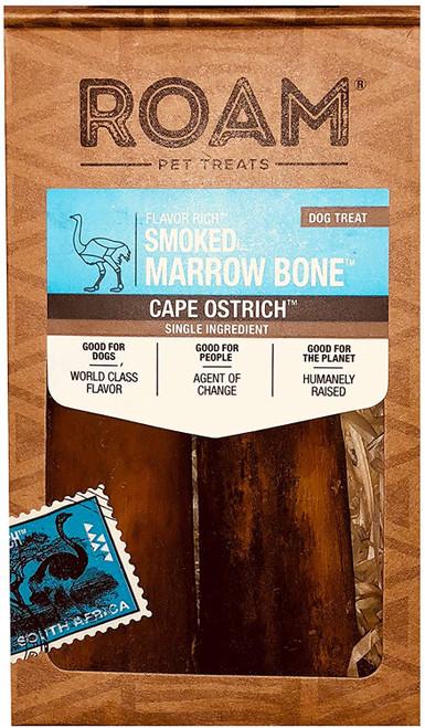Roam Ostrich Smoked Marrow Bone, SM, 2pk