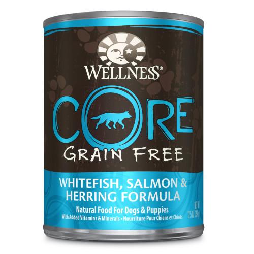 Wellness Core Whitefish Salmon & Herring, 12.5oz