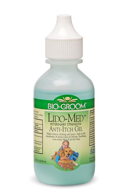 Bio-Groom Lido-Med Gel Veterinary Strength Anti-Itch Gel, 2oz