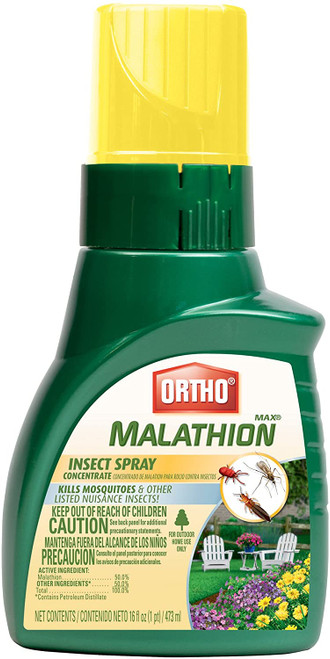 Ortho Max Malathion Insect Spray Concentrate, 16 oz