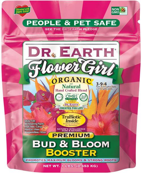 Dr. Earth 3-9-4 Minis Flower Girl Fertilizer, 1lb