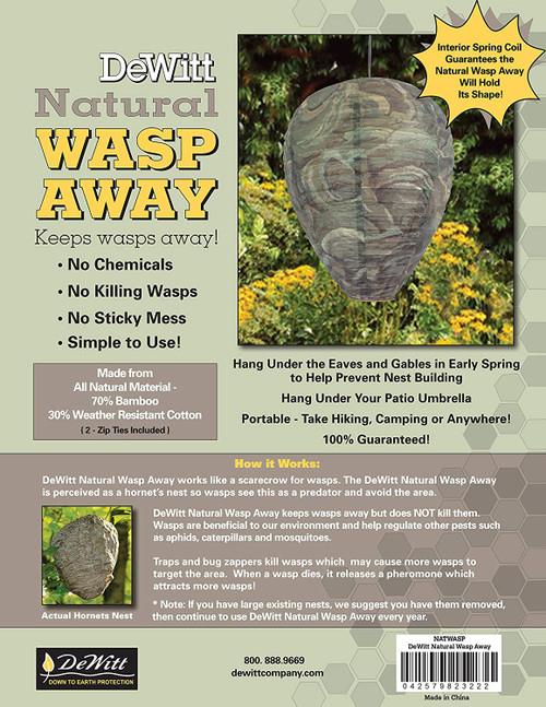 """Dewitt Natural Wasp Away, 12"""" X 9"""", Camouflage"""