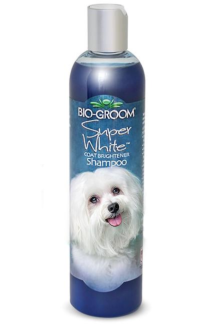 Bio-Groom Super White Coat Brightener Shampoo, 12oz