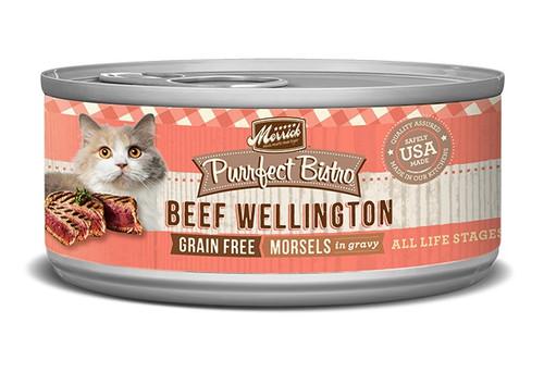 Merrick GF Purrfect Bistro Beef Wellington, 5.5oz