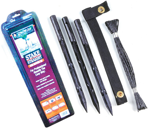 DeWitt Tree Stake Straight Kit, 15 inch