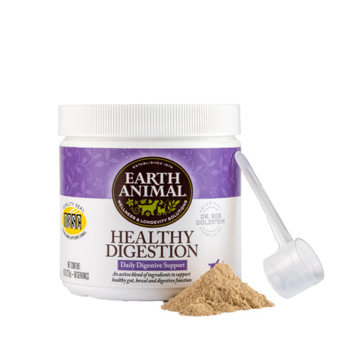 Earth Animal Healthy Digestion Nutritional Supplement, 8oz