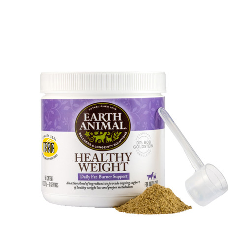 Earth Animal Healthy Weight Nutritional Supplement, 8oz