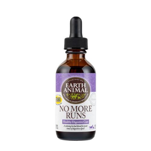 Earth Animal No More Runs Organic Herbal Remedy, 2oz