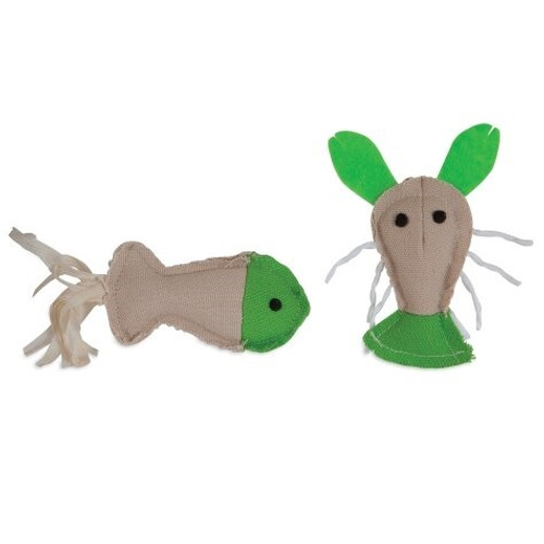 Jackson Galaxy Fish and Lobster Marinater Cat Toys