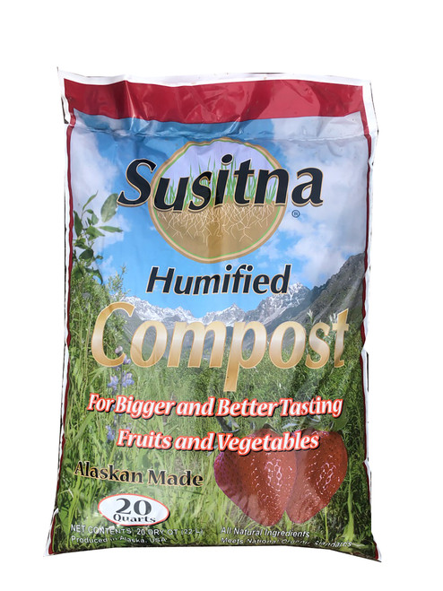 Susitna Humified Compost, 20 quart