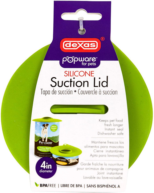 Dexas Suction Lid, 4 inch
