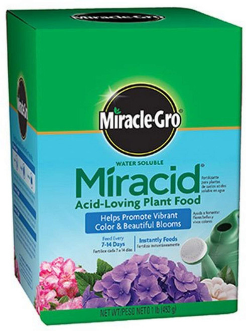Miracle-Gro Water Soluble Miracid Acid-Loving Plant Food, 1Lb