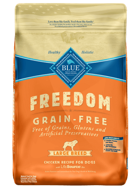 Blue Freedom Large Breed Chicken, 24lb