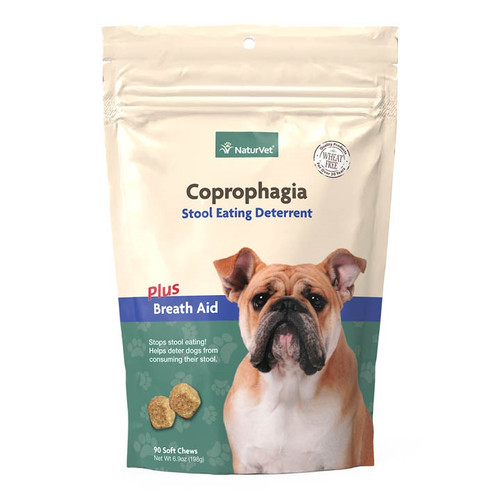 Naturvet Coprophagia Soft Chew, 90ct