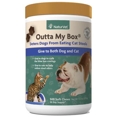 NaturVet Outta My Box Chews, 500pc