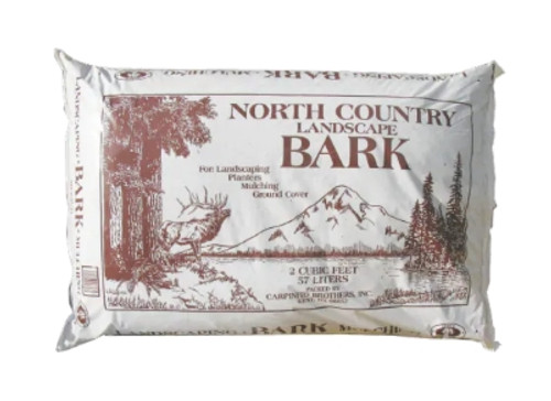 North Country Bark Mulch, 2cf