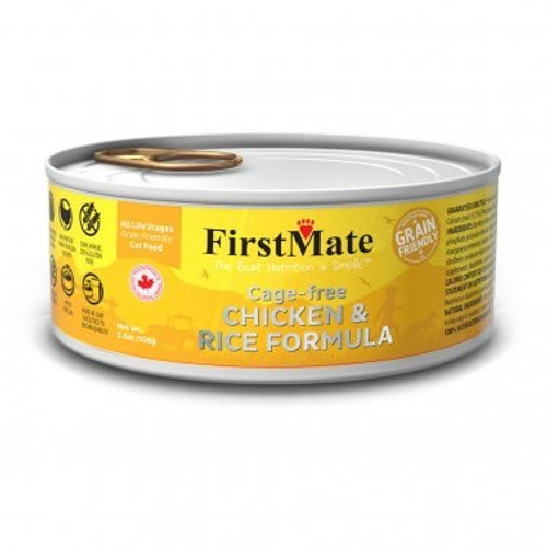 First Mate Friendly Chicken and Rice Cat Food