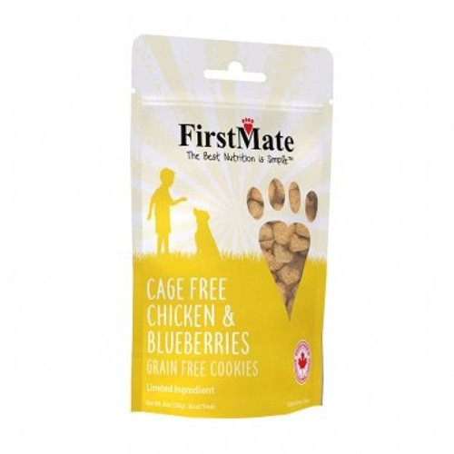 First Mate Chicken and Blueberry Dog Treat, 8oz
