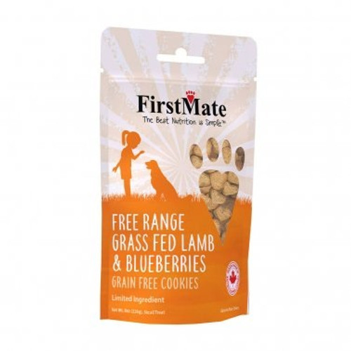 First Mate Lamb and Blueberry Dog Treat, 8oz