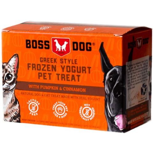 Bossdog Frozen Yogurt, Pumpkin & Cinnamon