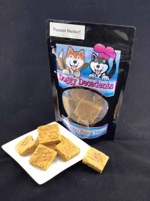 Doggy Decadents Peanut Butter Bites, 6oz