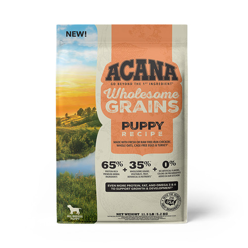 Acana Puppy + Wholesome Grains