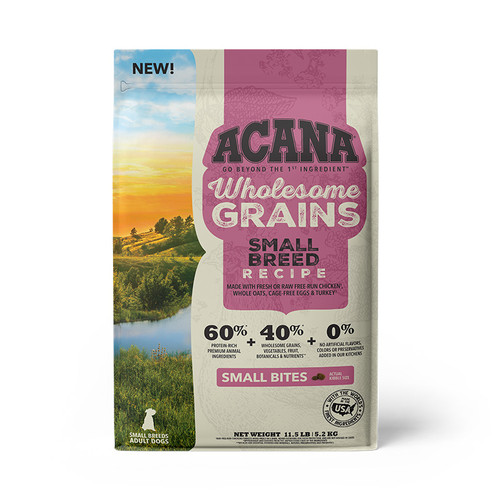 Acana Dog Small Breed + Wholesome Grains