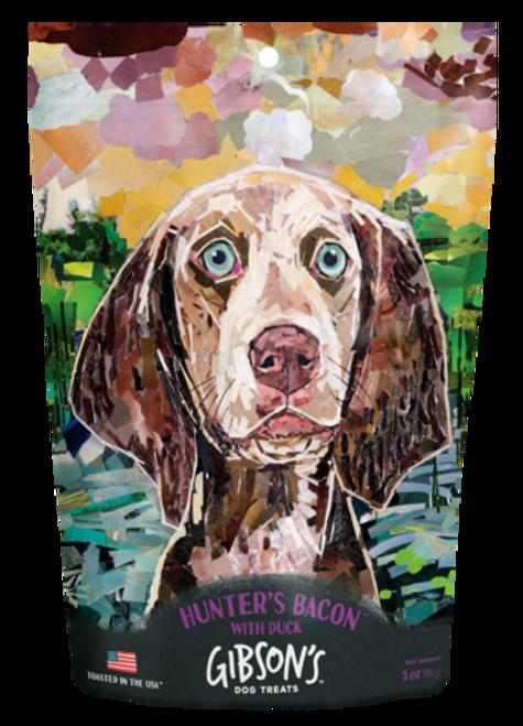 Gibson's Hunter's Bacon Dog Treat, 3oz