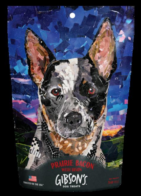 Gibson's Prairie Bacon Dog Treat, 3oz