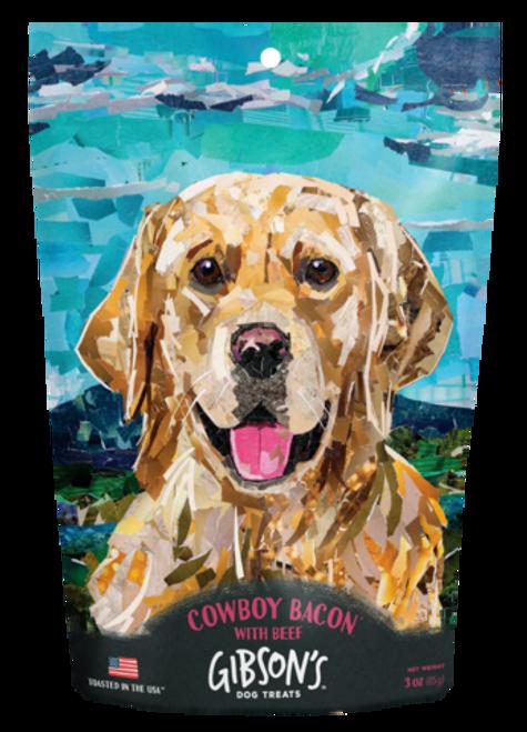 Gibson's Cowboy Bacon Dog Treat, 3oz