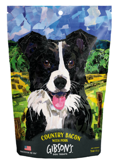 Gibson's Country Bacon Dog Treat, 3oz