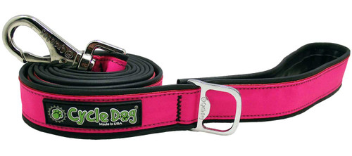 Cycle Dog Reflective Hot Pink Leash, 6ft