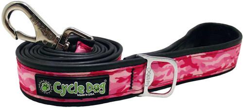 Cycle Dog Pink Camo Leash, 6ft