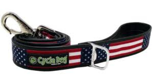 Cycle Dog USA Stars & Stripes Leash, 6ft