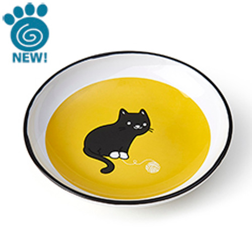 Petrageous Tangled Kitty Saucer, 5 inch